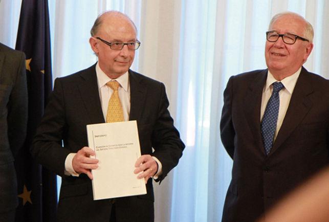 Reforma fiscal Lagares vs Montoro