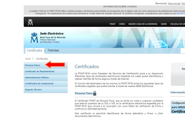 certificado digital persona física